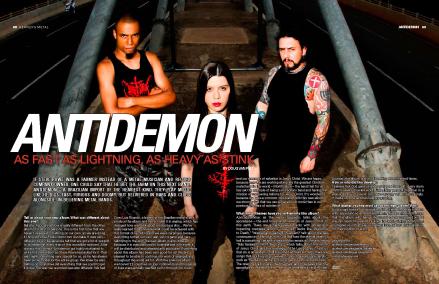 Heavens Metal Magazine (EUA) in 06.09.2012