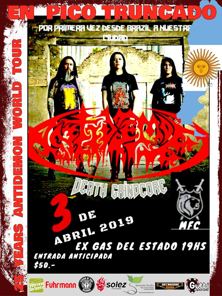 Antidemon en Pico Truncado en 03/04/2019 en Argentina