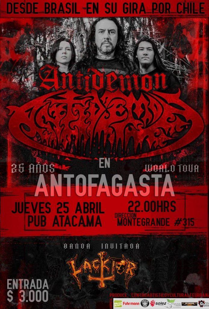 Antidemon en Antofagasta en 25/04/2019 en Chile