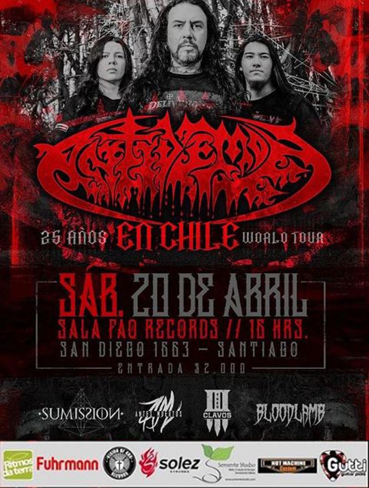 Antidemon en Santiago en 20/04/2019 en Chile