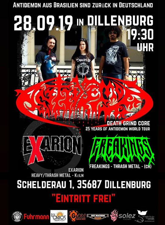 Antidemon in 28/09/2019 in Dillenburg, Germany