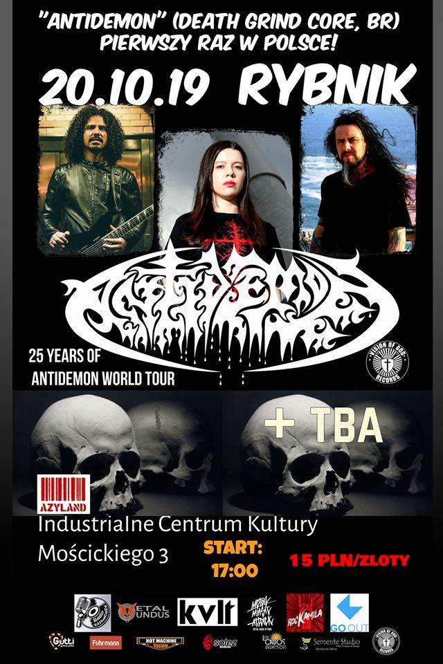 Antidemon + TBA in Rybnik, Poland